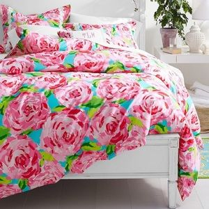 Lilly Pulitzer Duvet Cover Shams First Impressions